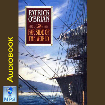 Aubrey Maturin Series #10 - THE FAR SIDE OF THE WORLD - Patrick O'Brian - MP3 CD