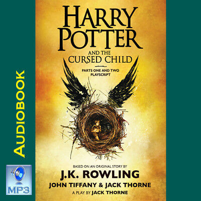 Harry Potter (US) #8 - THE CURSED CHILD - JK Rowling - MP3 CD