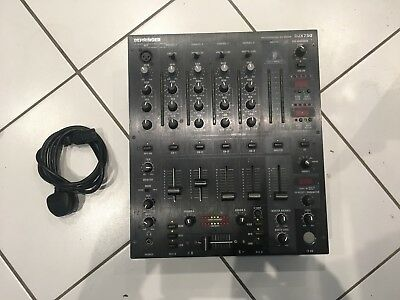 Behringer DJX750 Pro DJ Mixer 5 Channel Digital Effects BPM Counter