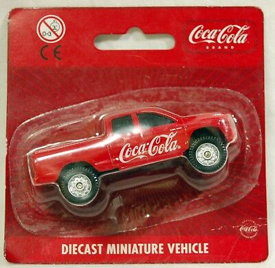 Coca Cola Macchinina  Dodge Ram Quad Cab - Diecast Miniature Vehicle