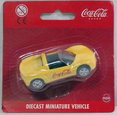 Coca Cola Macchinina  Opel Speedster - Diecast Miniature Vehicle