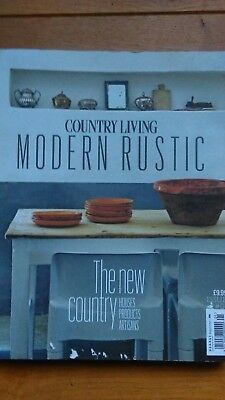 COUNTRY LIVING MODERN RUSTIC magazine ISSUE 1 RARE