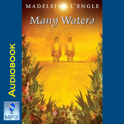 Wrinkle In Time Quintet #4 - MANY WATERS - Madeleine L'Engle - MP3 CD