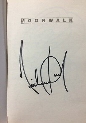 Michael Jackson Signed Book