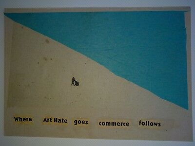 Billy Childish & Harry Adams  Art Hate Where Art Hate Goes Commerce Follows one.