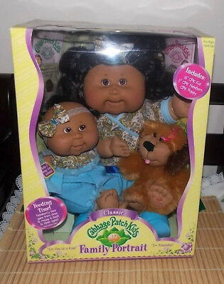 Cabbage Patch Kids Family Portrait Boxed set of 3 BRAND NEW