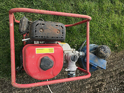 Clarke PW2 6.5HP 4 Stroke Water Pump