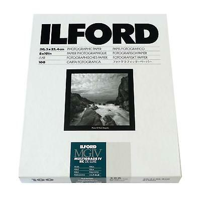 Ilford MGIV Photographic Paper - cat 1799178 - MG4RC4-4M - part pack 8x10