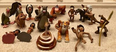Disney Store Exclusive The Jungle Book figure play set All 16 Characters Rare