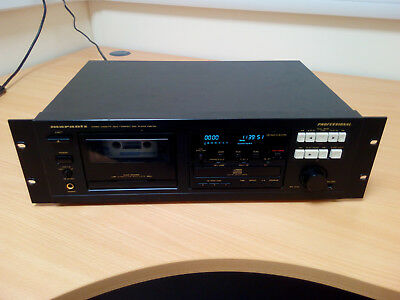 Marantz PMD350 Professional rack mount CD player and Auto Reverse Cassette Deck