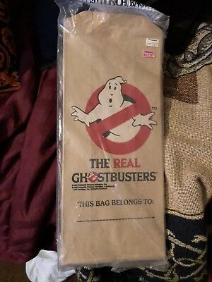 1986 The Real Ghostbusters Carrousel Products unopened package 20 Lunch Bags