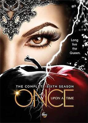 Once Upon a Time:The Complete Sixth Season 6 (DVD, 2017, 5-Disc Set) NEW