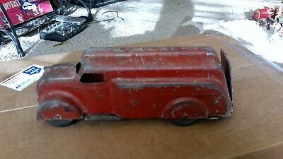 Antique Cast Iron Truck   Runs Good   Great Gas Mileage    Very Old