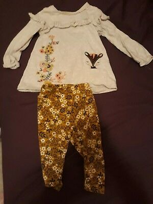 baby girls outfit 9-12