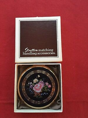 Vintage Stratton Powder Compact -Unused in Box