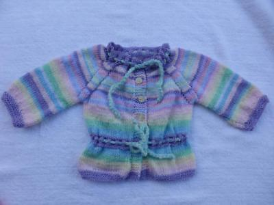 Gorgeous Hand Knitted Baby  Jacket - 12months