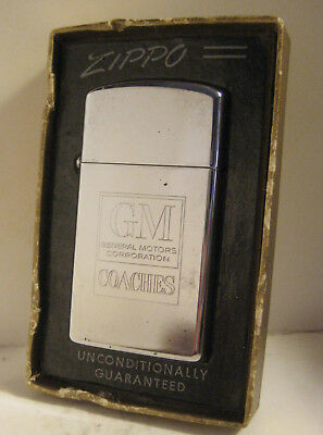1965 Advertising Zippo Gm General Motors Coaches