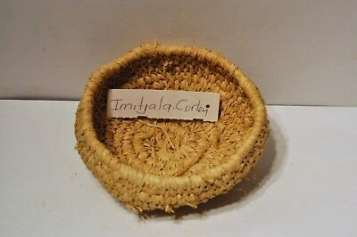 Aboriginal Hand woven basket by Imitjala Curley