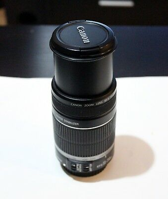 Canon EF-S 55-250mm F4-5.6 IS STM Lens for Canon - BARELY USED - MINT