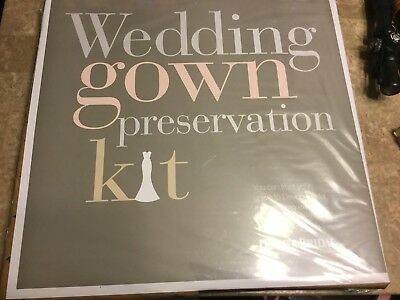 wedding gown preservation kit New With Tags