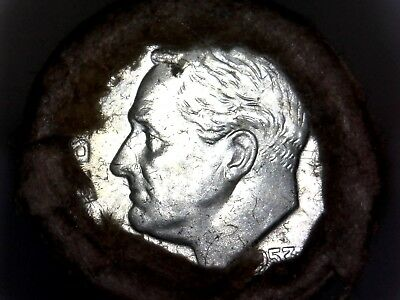 1953 D Bu Roll Roosevelt Dimes *silver *sealed *unsearched *private Collection