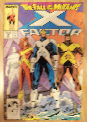 X-Factor Vol 1 #26 (1988) Apocalypse Fall Of The Mutants VF Combined P&P
