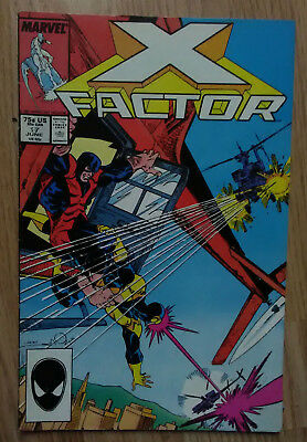 X-Factor Vol 1 #17 (1987) 1st Rictor Appearance VF Combined P&P Available