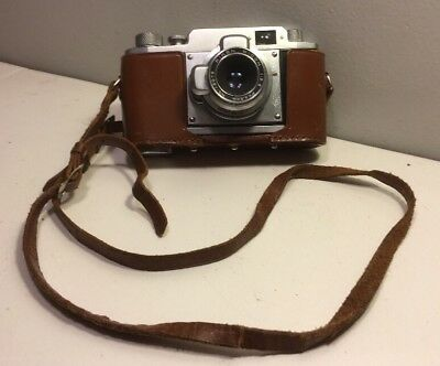 Ricoh Ricolet No. 19780 35mm Rangefinder Camera very clean (not film tested)