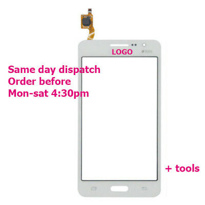 Samsung Galaxy Grand prime 4G SM-G531 Touch Screen Digitizer Glass DOUS White