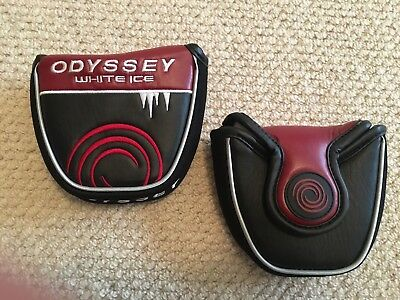 Odyssey White Ice Large Mallet Putter Head Cover *Brand New*