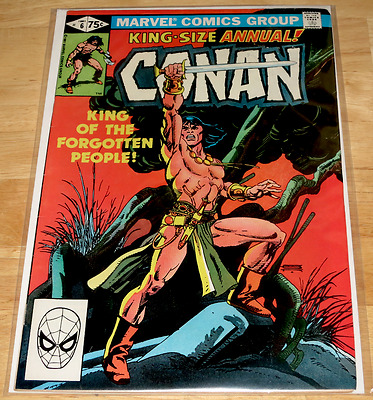 Marvel Comics CONAN KING SIZE ANNUAL #6 1981