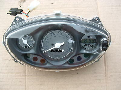 Piaggio Fly 150 Ie 3V 2015 Mod Instrument Cluster Panel Good Condition