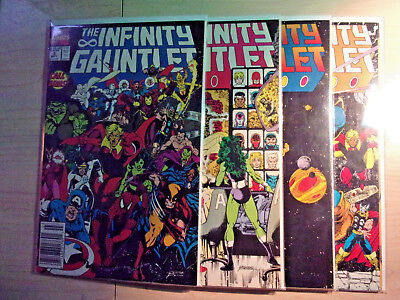 Infinity Gauntlet #2-4 and #6  Four book lot!