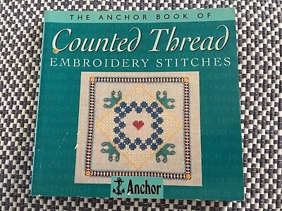 COUNTED THREAD EMBROIDERY STITCHES - ANCHOR - Sewing Craft Book