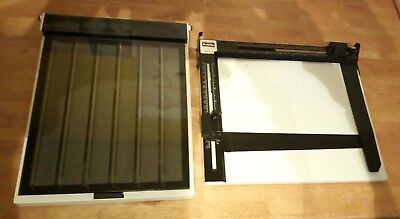 "LPL Easel Mask (8"" x 10"") & Paterson Contact Proof Printer 35mm (10"" x 8"")"