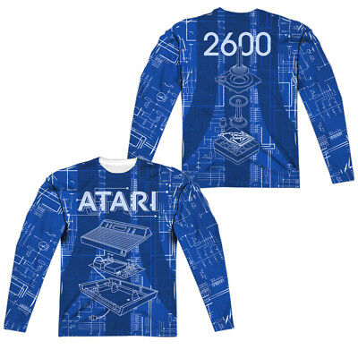 Atari Video Game Console INSIDE OUT 2-Sided All Over Print Poly T-Shirt
