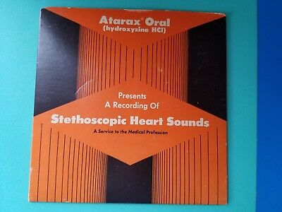 Medical Oddity Stethoscopic Heart Sounds 1972 Promo Record