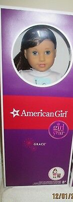 RETIRED American Girl Grace Girl of the Year 2015, Bistro and Outfit all NIB!