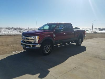 2017 Ford F-350 Ruby red and metallic Financing available  Ford F350 XLT Lariat