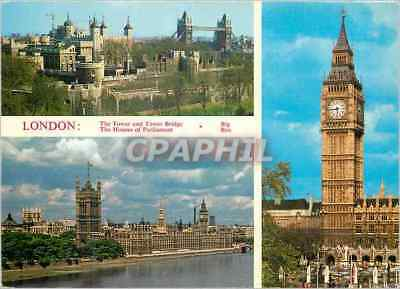 CPM London The Tower of London and Tower bridge The Houses of Parliament