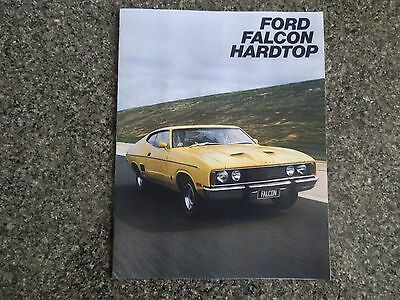 1976 Ford Falcon Xc Coupe Sales  Brochure  100% Guarantee