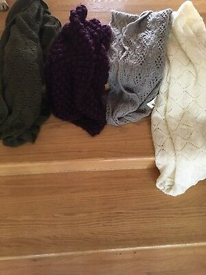 Assorted Women's Circle Scarfs 4