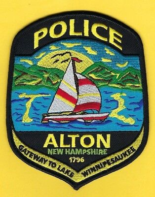 Alton Police Department Patch ~ New Hampshire ~ Outstanding Artwork & Colors