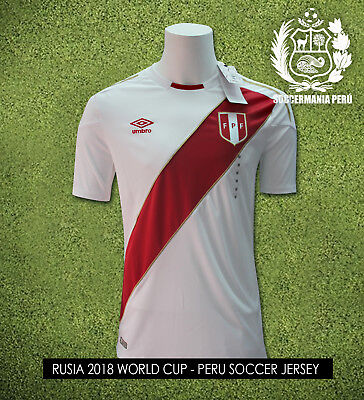 NEW!! 2018 Umbro Perú Soccer Jersey Rusia World Cup  ALL SIZES