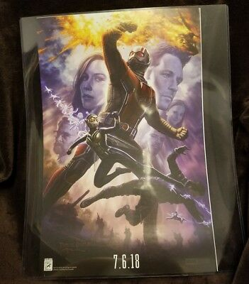 2017 SDCC EXCLUSIVE MARVEL Studio Geninuine POSTER Ant-man Wasp by Andy Park