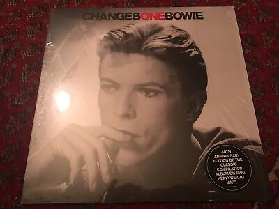 Brand New Limited Edition David Bowie Changes Clear Vinyl Free Recorded Post