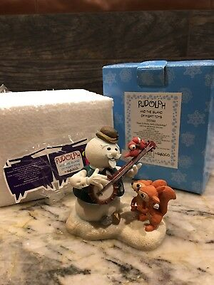Enesco Rudolph and the Island of Misfit Toys Have a Holly Jolly Christmas 1999