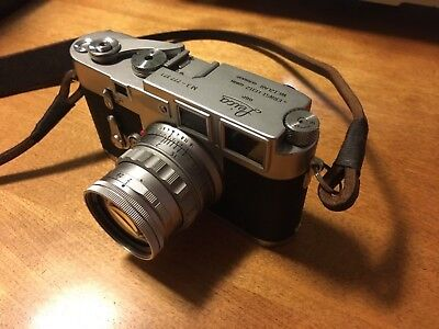 Leica M3 Double Stroke with 50mm Summicron f2 lens and case