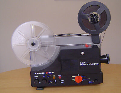 Hanimex SR8600 Super 8 Sound Movie Projector, variable speed, pick up or post