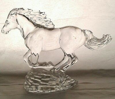 Waterford Crystal Running Horse Figurine